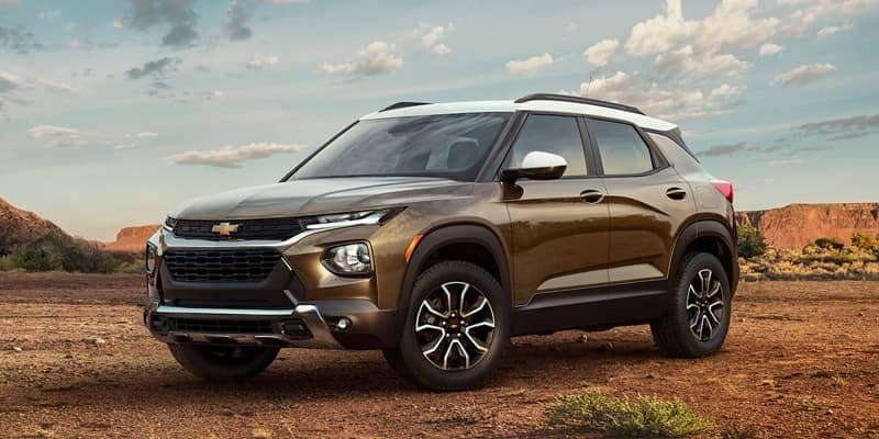 Chevy Reveals Official Details on the 2021 Trailblazer