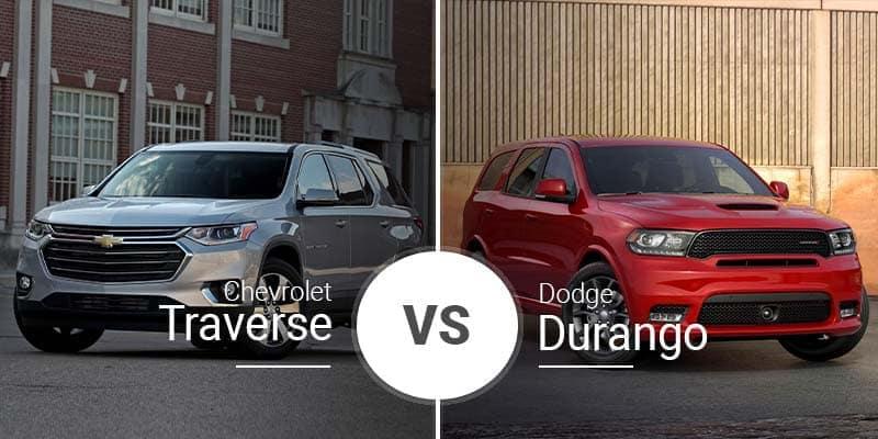Chevy Traverse Vs. Dodge Durango