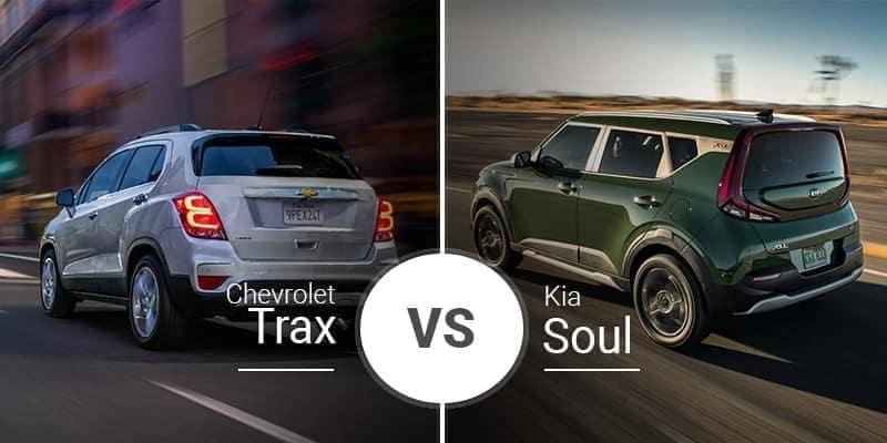 Chevy Trax Vs. Kia Soul
