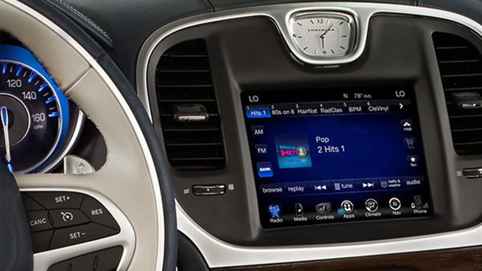 Technology Features of the New Chrysler 300 at Garber in Jacksonville, FL