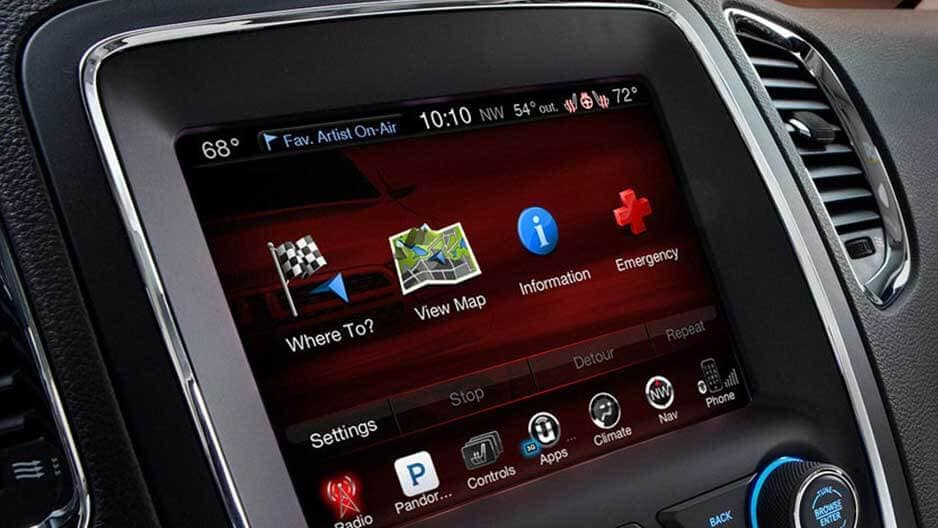 Technology Features of the New Dodge Durango at Garber in Jacksonville, FL