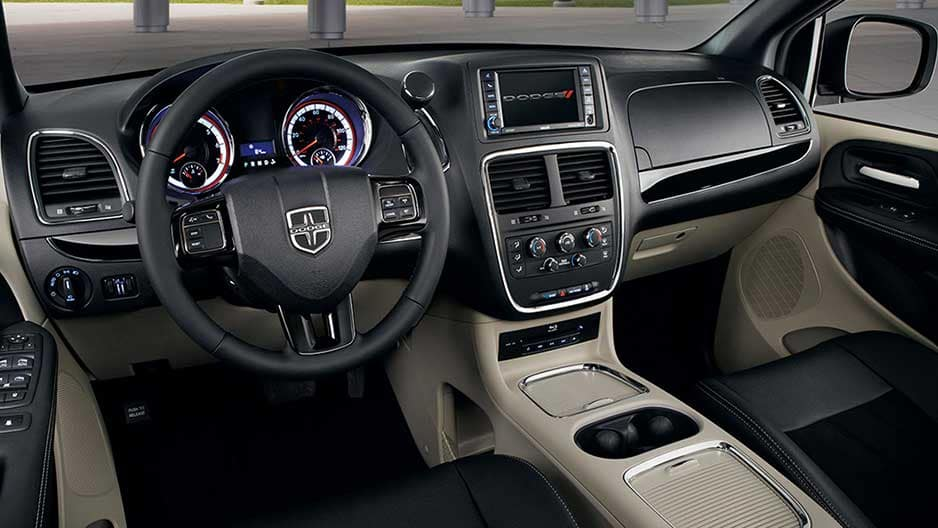 Interior Features of the New Dodge Grand Caravan at Garber in Orange Park, FL