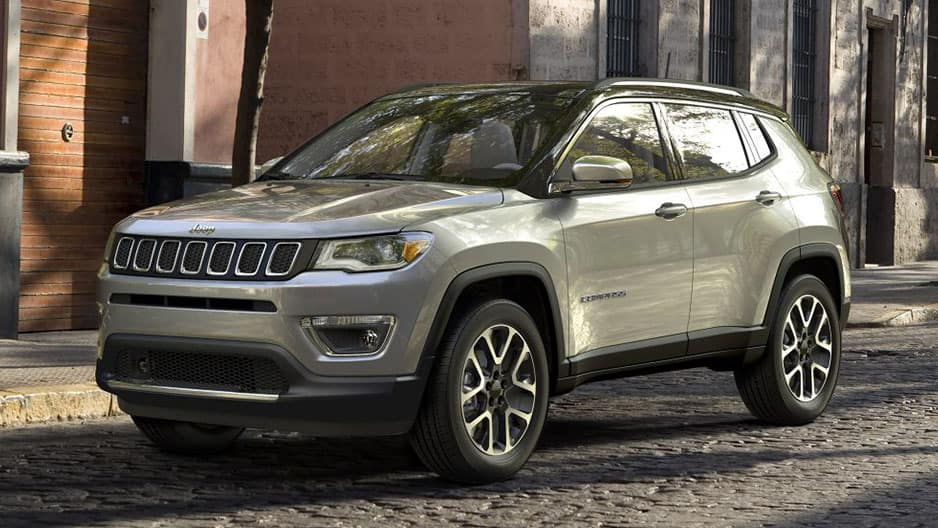 Exterior Features of the New Jeep Compass at Garber in Orange-Park, FL