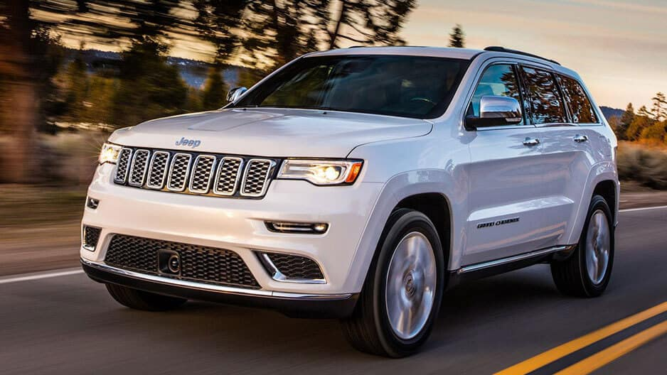 Exterior Features of the New Jeep Grand Cherokee at Garber in Orange Park, FL