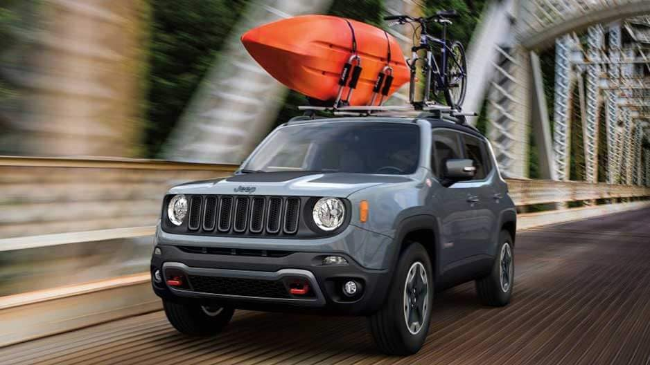 Exterior Features of the New Jeep Renegade at Garber in Orange-Park, FL
