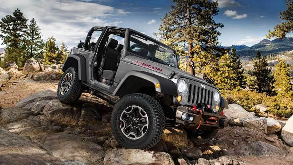 Exterior Features of the New Jeep Wrangler at Garber in Orange Park, FL