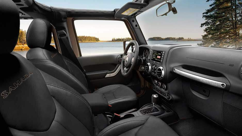 Interior Features of the New Jeep Wrangler at Garber in Orange Park, FL