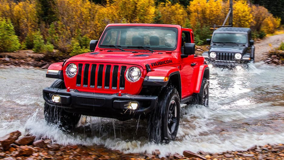 Performance Features of the New Jeep Wrangler JL at Garber in Jacksonville, FL