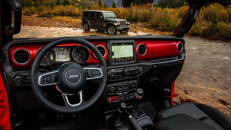 Technology Features of the New Jeep Wrangler JL at Garber in Jacksonville, FL