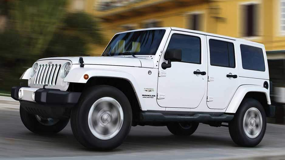 Exterior Features of the New Jeep Wrangler Unlimited at Garber in Orange Park, FL