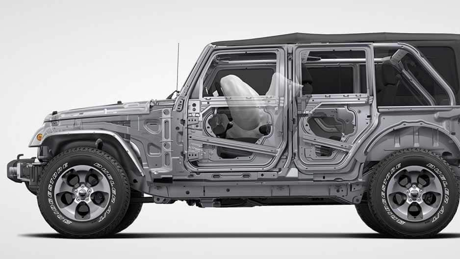 Safety Features of the New Jeep Wrangler Unlimited at Garber in Jacksonville, FL