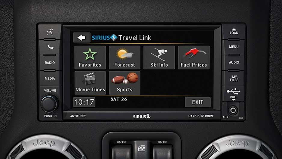 Technology Features of the New Jeep Wrangler Unlimited at Garber in Jacksonville, FL