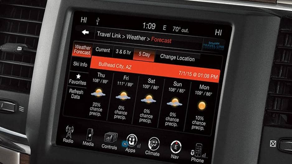Technology Features of the New RAM 1500 at Garber in Jacksonville, FL
