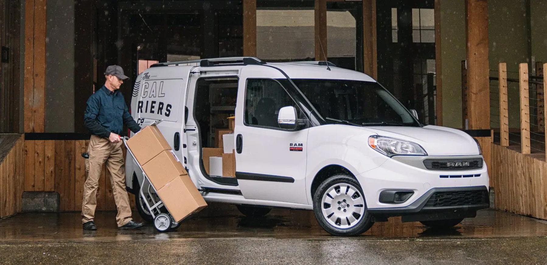 Ram ProMaster Vs  Ford Transit: Cargo Van Competition