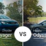 Chrysler Voyager Vs. Honda Odyssey