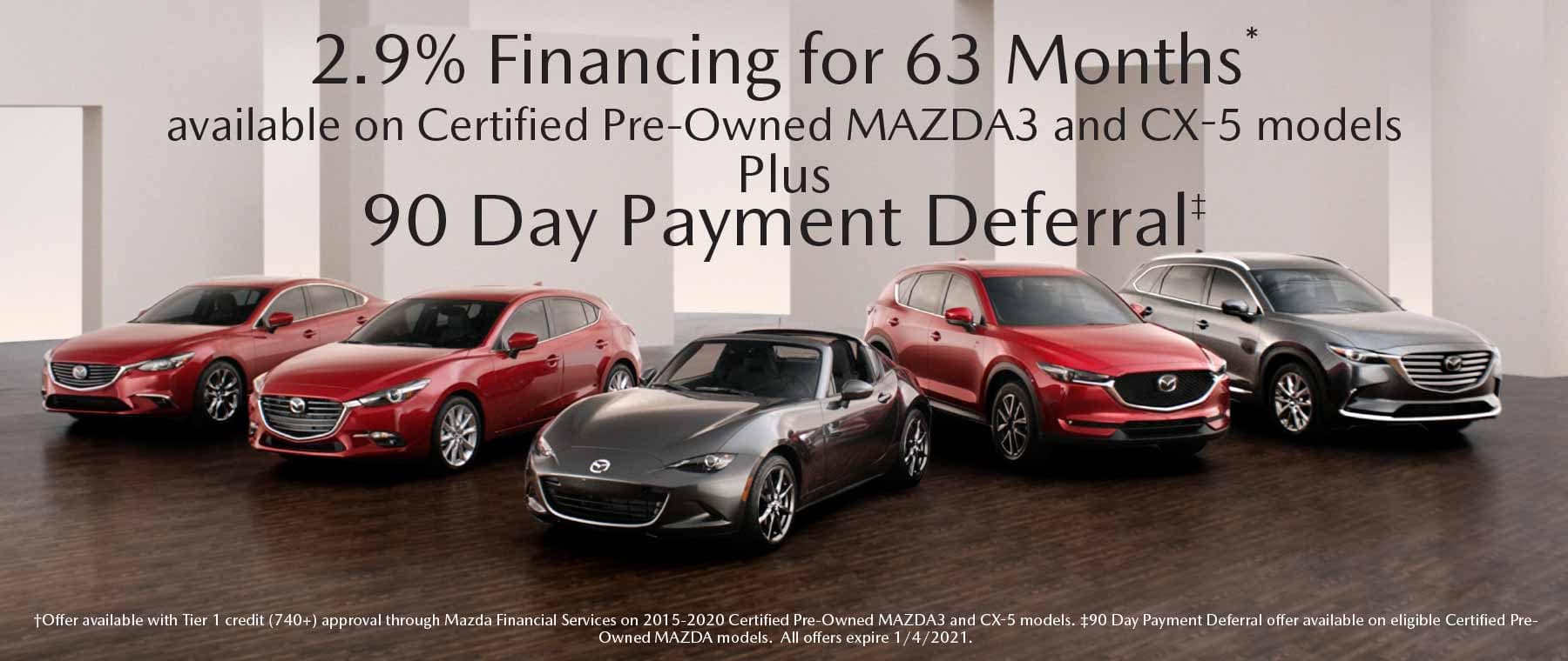 CPO APR Special Offer Garden City Mazda NY
