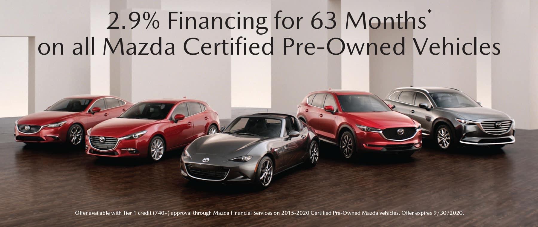 s CPO APR Special Offer Garden City Mazda NY