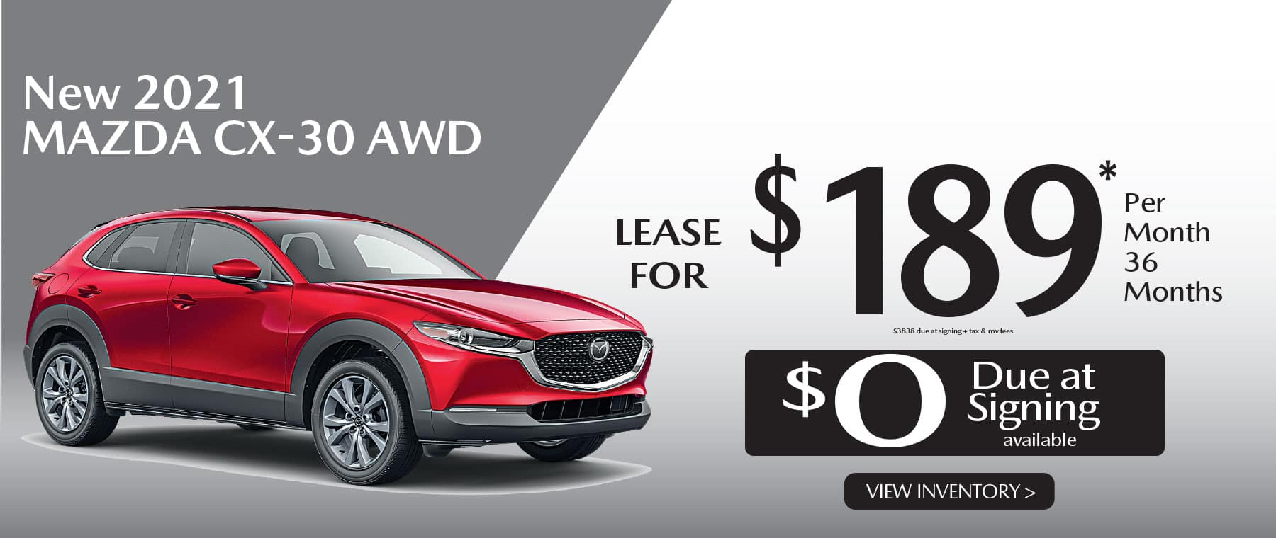 01u CX-30 hi New Lease Special Offer Garden City Mazda NY