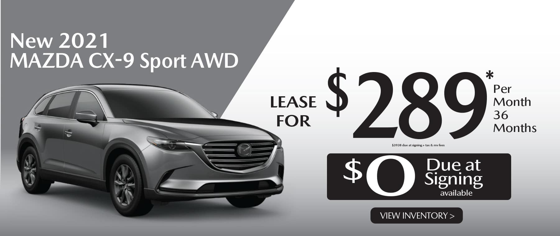 01u CX-9 hi New Lease Special Offer Garden City Mazda NY