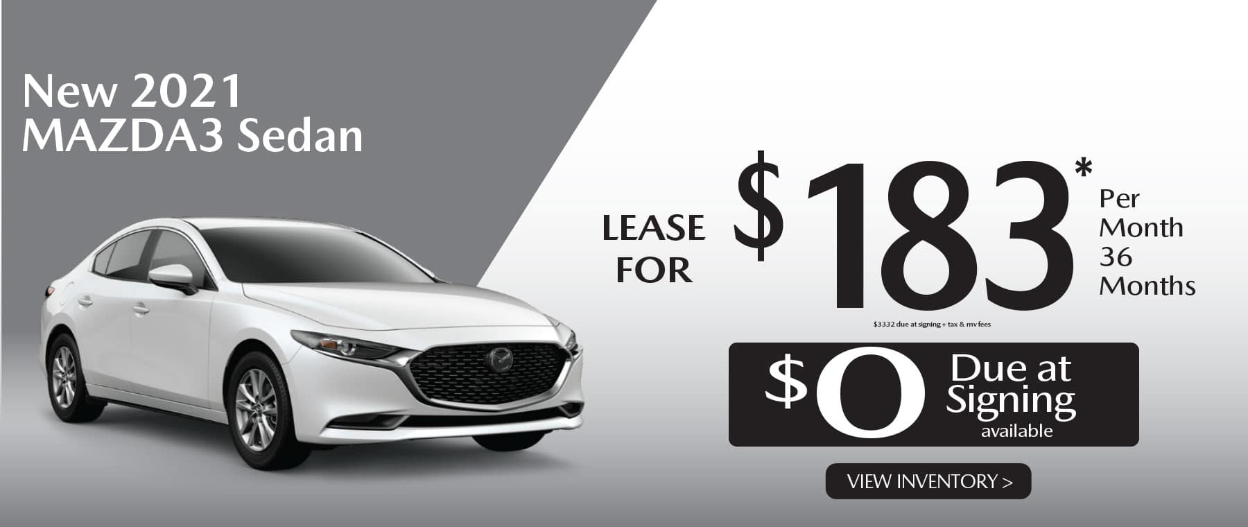 01u MAZDA3 hi New Lease Special Offer Garden City Mazda NY
