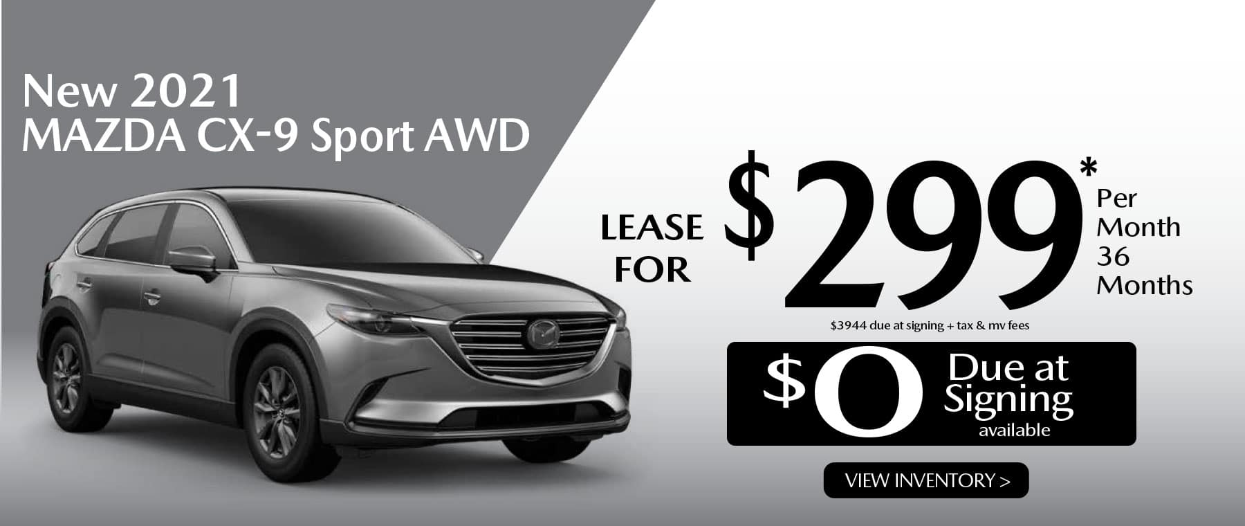 03 CX-9 hi New Lease Special Offer Garden City Mazda NY