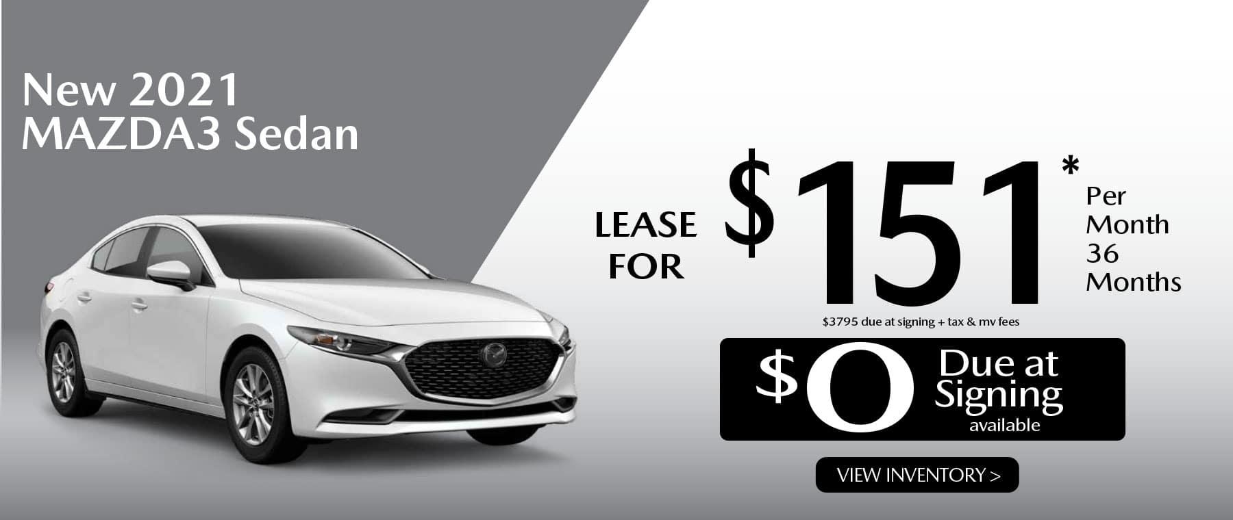 03 MAZDA3 hi New Lease Special Offer Garden City Mazda NY