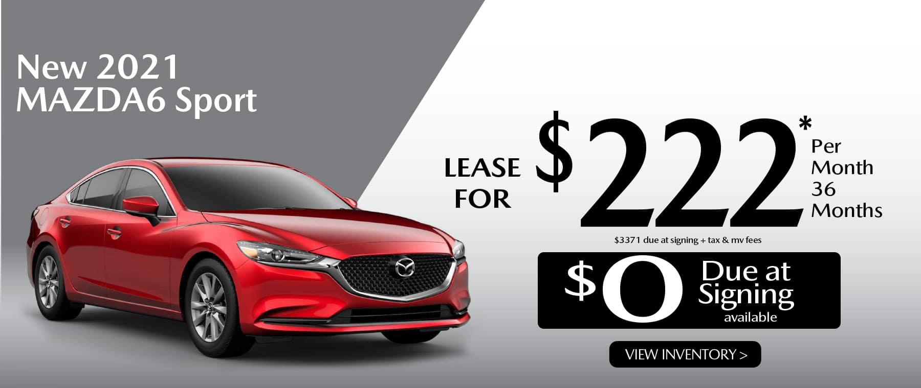 03 MAZDA6 hi New Lease Special Offer Garden City Mazda NY