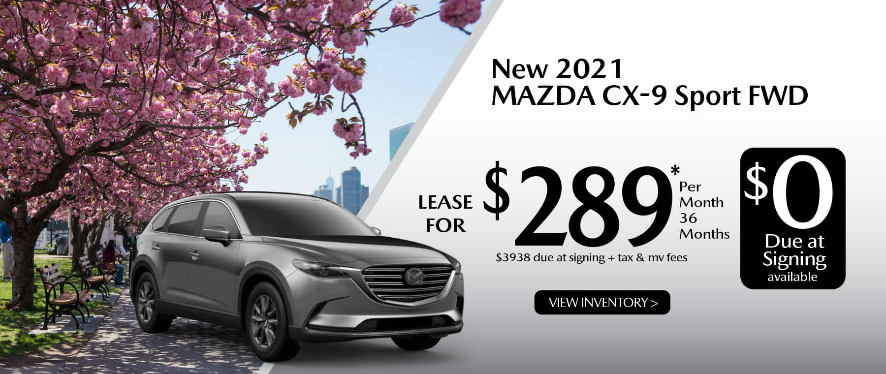 04 CX-9 hi New Lease Special Offer Garden City Mazda NY