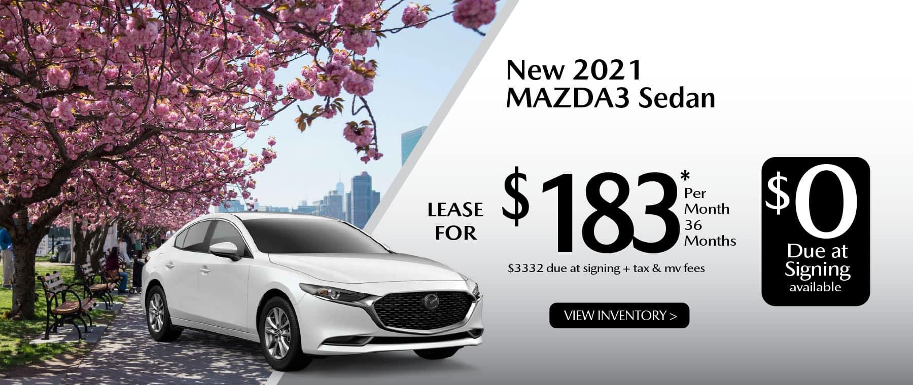 04 MAZDA3 hi New Lease Special Offer Garden City Mazda NY