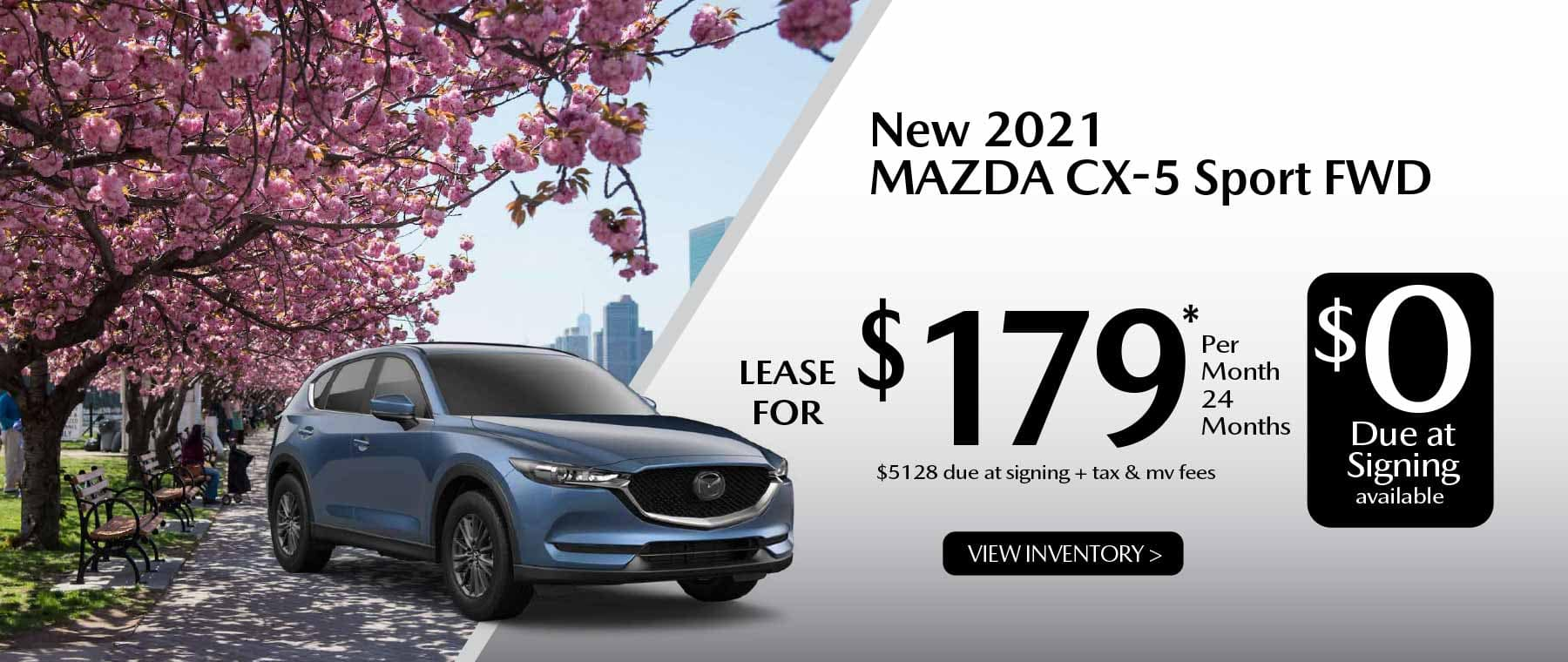 05hi CX-5 New Lease Special Offer Garden City Mazda NY