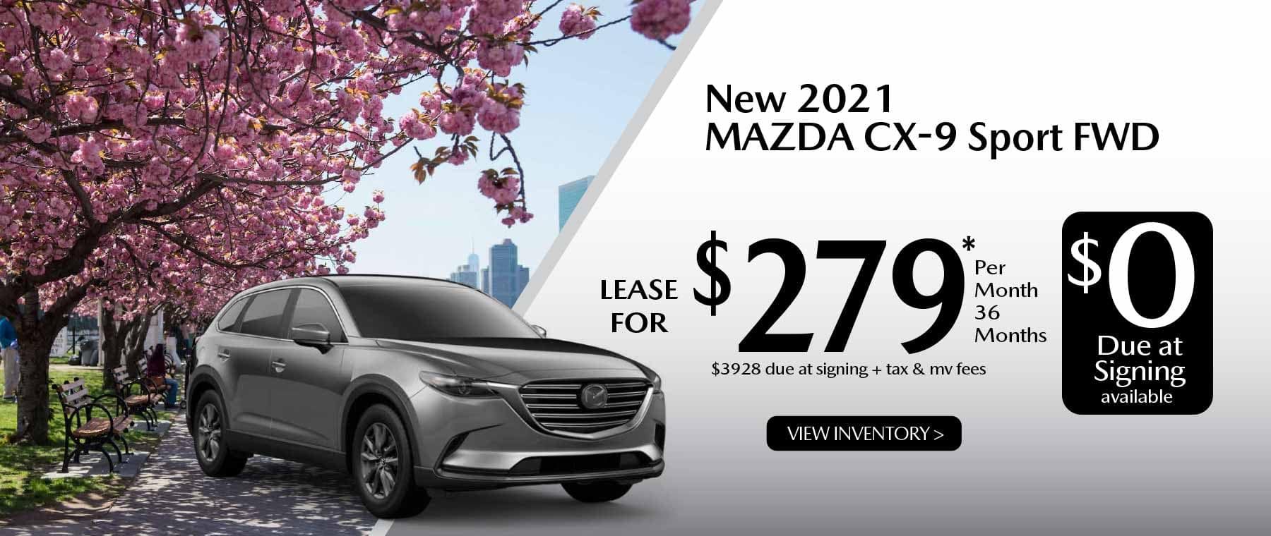 05hi CX-9 New Lease Special Offer Garden City Mazda NY