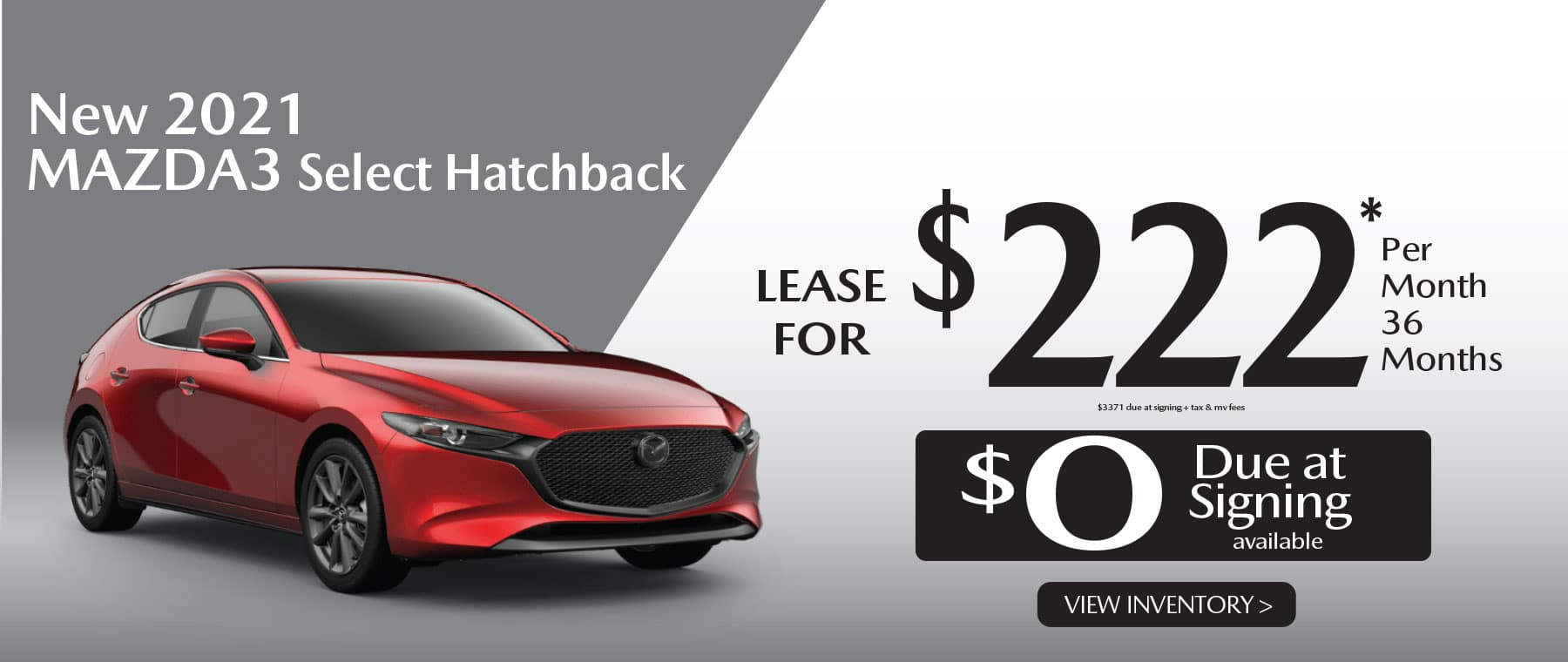 01u MAZDA3 hatch hi New Lease Special Offer Garden City Mazda NY