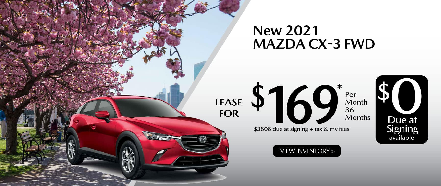 04 CX-3 hi New Lease Special Offer Garden City Mazda NY