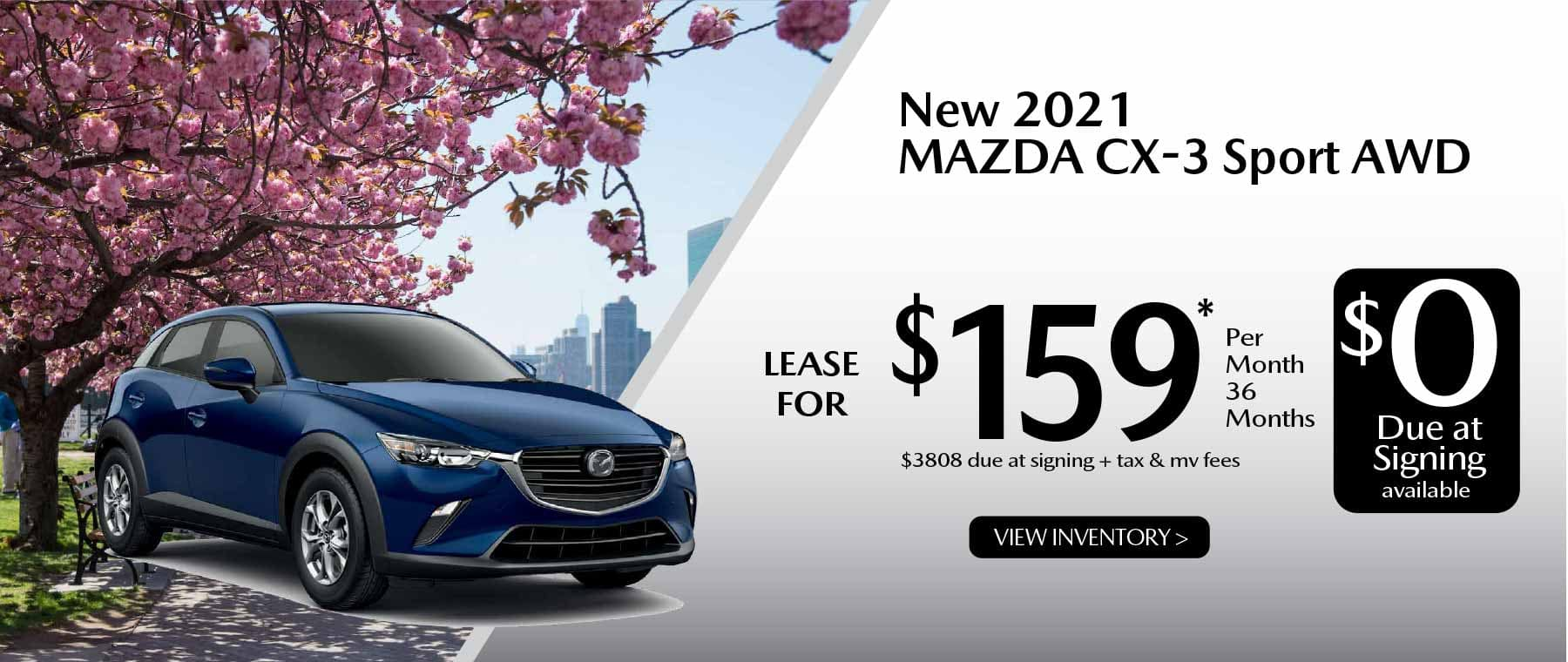 05hi CX-3 New Lease Special Offer Garden City Mazda NY