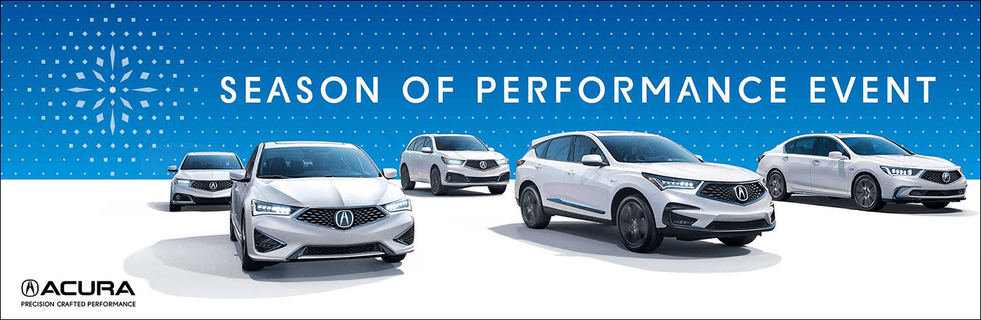 2018 Acura Season of Performance Event from Your Gateway Area Acura Dealers