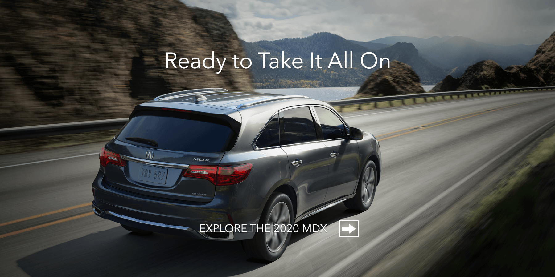 2020 Acura MDX Modern Steel Metallic Rear Angle HP Slide