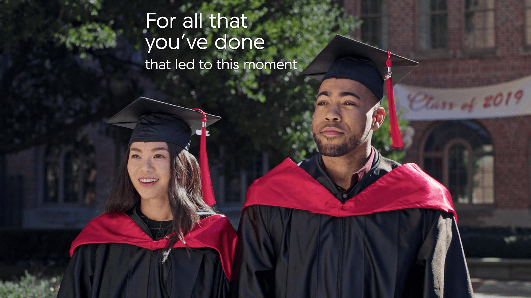 Acura College Graduate Program Graduation Moment Image