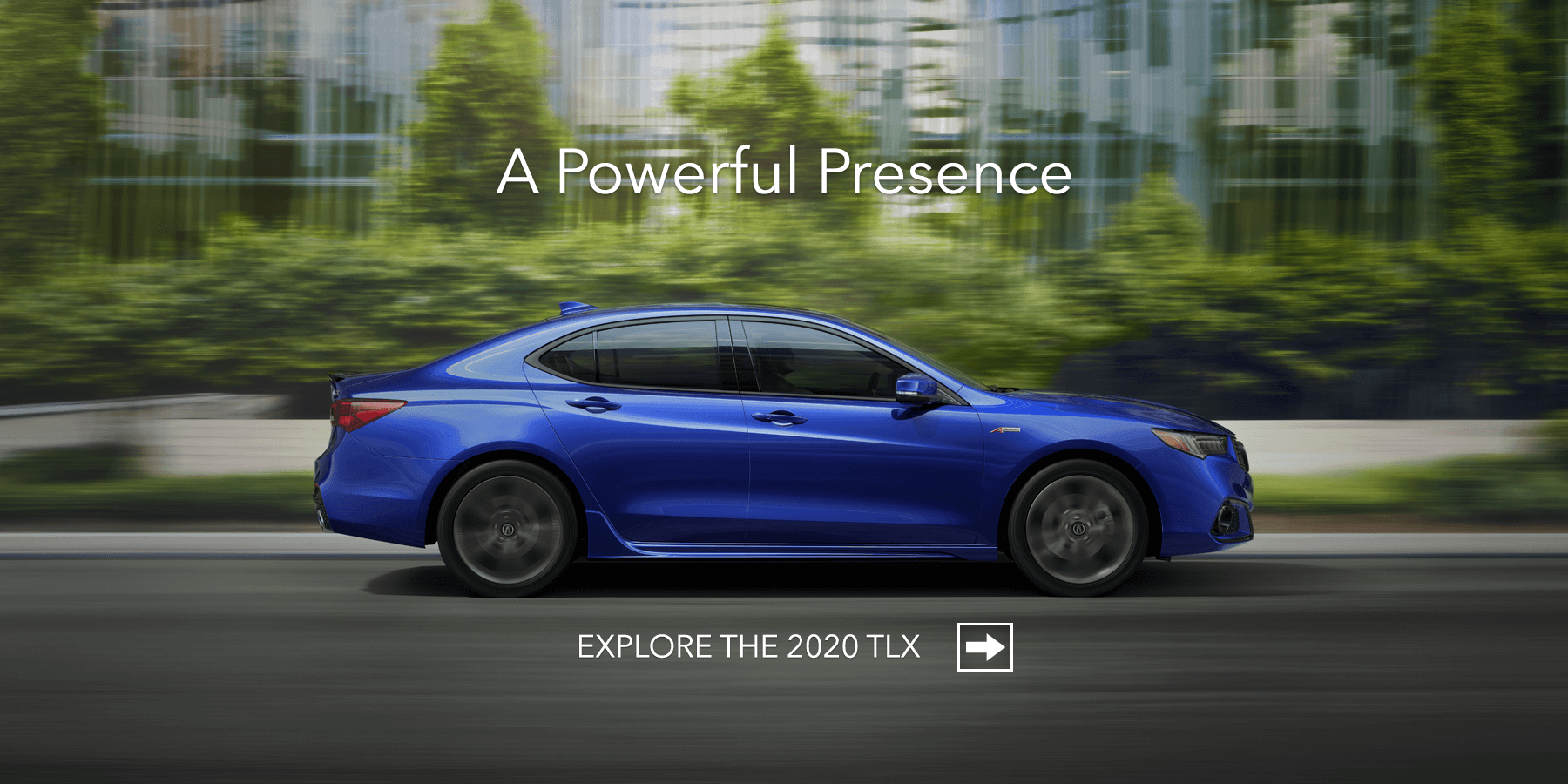 2020 Acura TLX Apex Blue Pearl Side Profile HP Slide