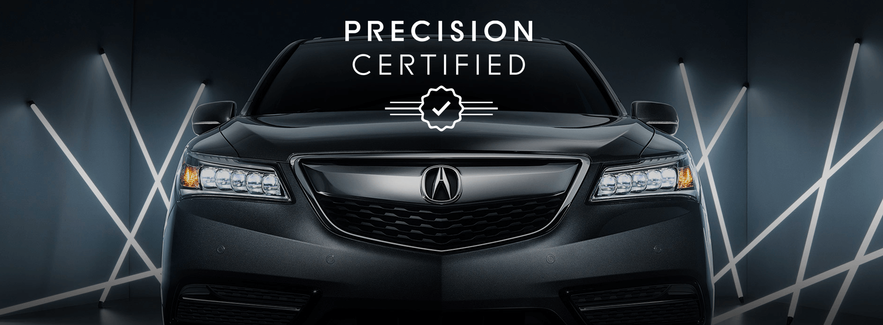 Acura Precision Certified Slider