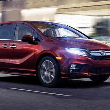 2018 Honda Odyssey Elite Driving