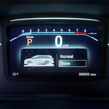 2018 Honda Odyssey Elite Instrument Panel