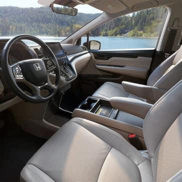 2018 Honda Odyssey Elite Interior Driver Seat