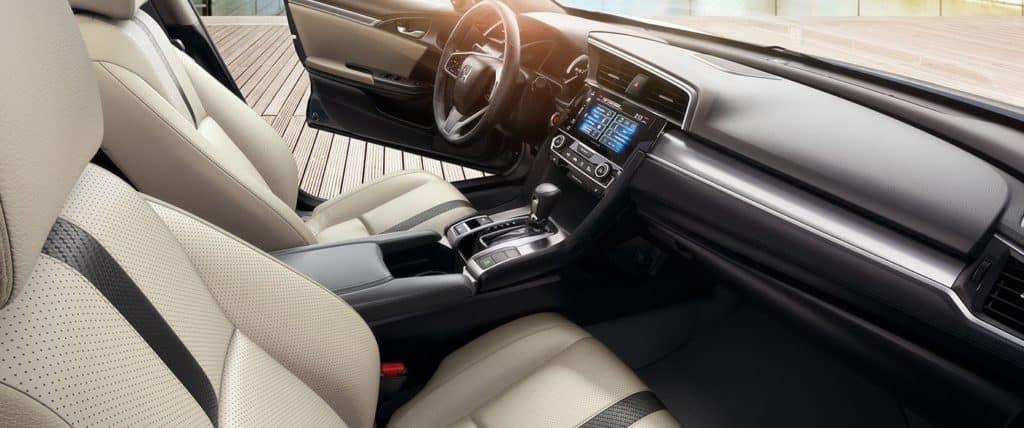 2018 Honda Civic Touring Interior Beige