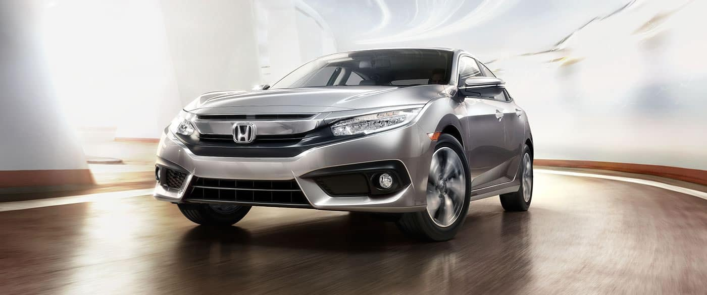 2018 Honda Civic Touring Front Driver Side