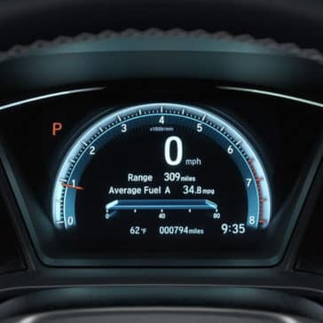 2018 Honda Civic Touring Instrument Panel