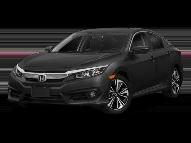 New 2018 Honda Civic EX-L FWD (CVT) 4D Sedan