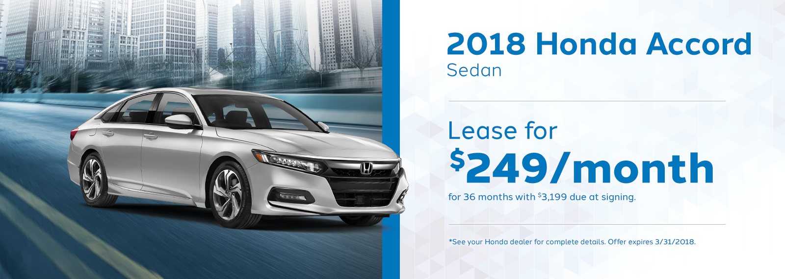 Accord Sedan March Offer Genthe Honda Homepage