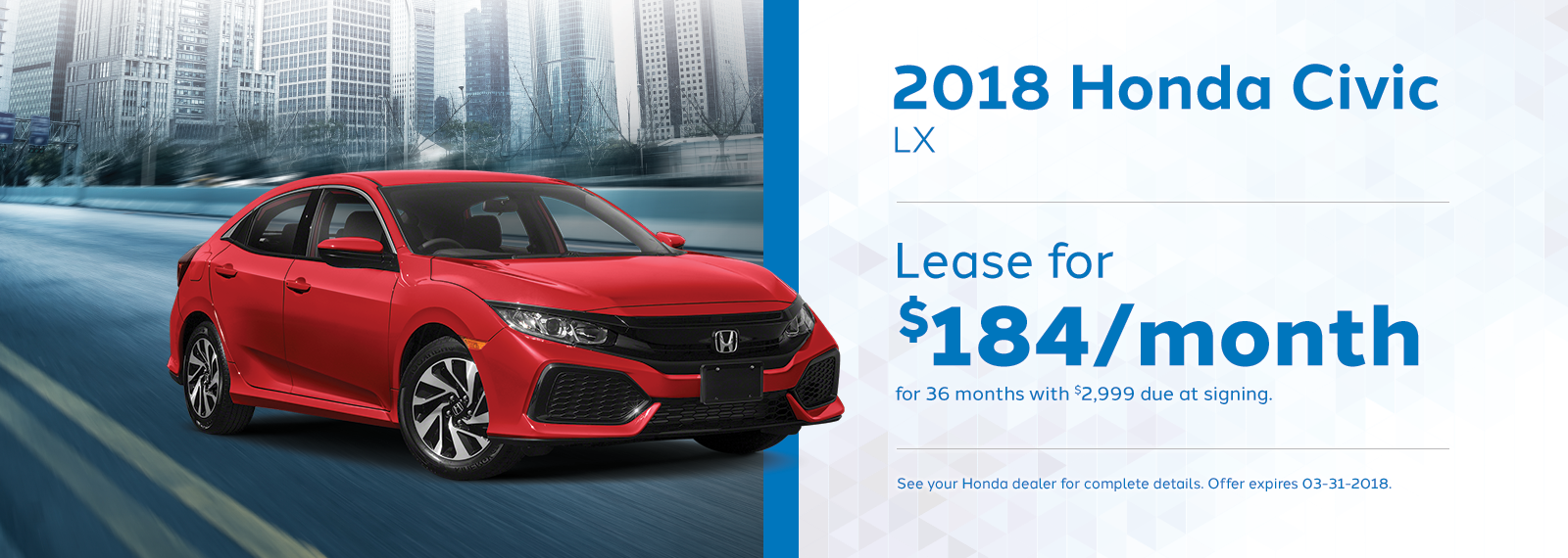 Civic LX March Offer Genthe Honda Homepage