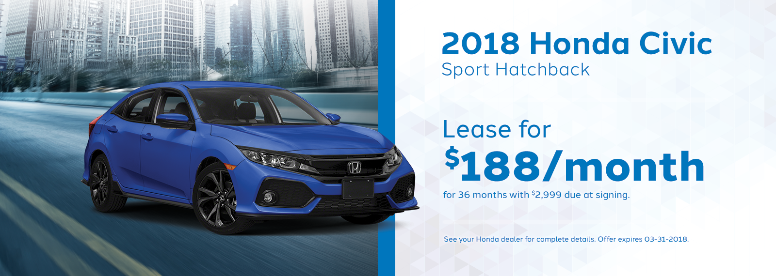 Civic March Offer Genthe Honda Homepage.