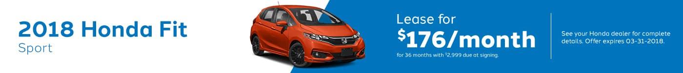 Fit March Offer Genthe Honda